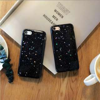 SALE Luxury Black Galaxy iPhone Case 6/6s