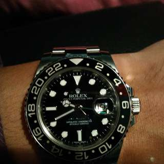 Rolex Gmt II 116710LN Price reduce for quick sale!! $8800(NETT)