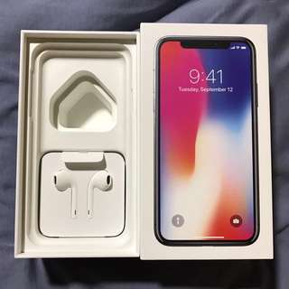 BNIB Apple EarPods that came with iPhone X