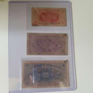 香港早期貨幣,集齊一套