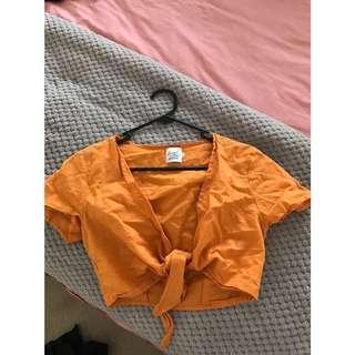 Orange tie up