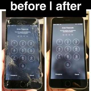 iPhone LCD Glass Replacement