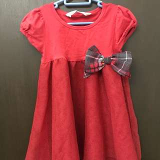 H&M Red Dress (2-3 years old)