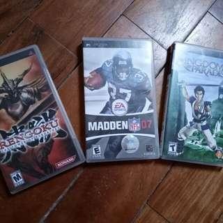 Original PSP Games