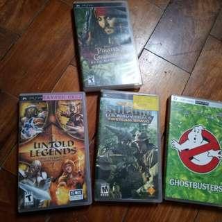 Orginal PSP games