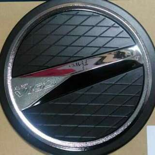 VIOS NEW GAS TANK COVER MATTE BLACK WITH CHROME