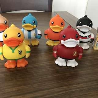 B duck 擺設6個