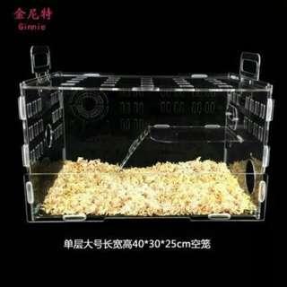 Acrylic 40cm XL Hamster Cage