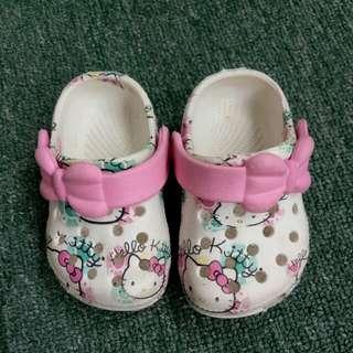 Crocs inspired baby sandals