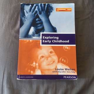 Exploring Early Childhood Textbook