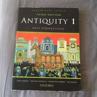 Antiquity 1 Textbook
