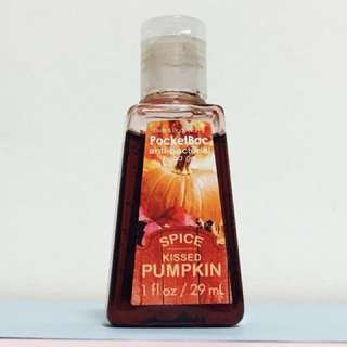 {reserved}Pocketbac Spice Kissed Pumpkin [anti bacterial hand sanitizer]