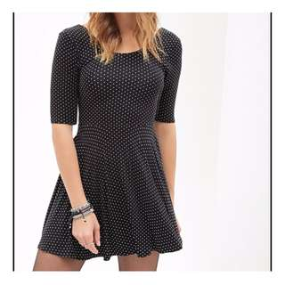 Forever 21 off shoulder dress- size small