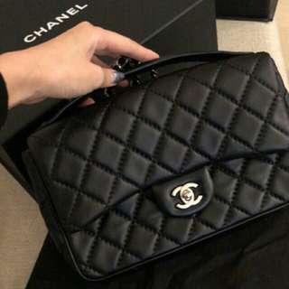 Chanel Lambskin Easy Carry Flap