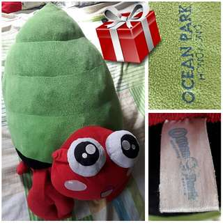 For Trade: Ocean Park Crabbie Stuffed Toy