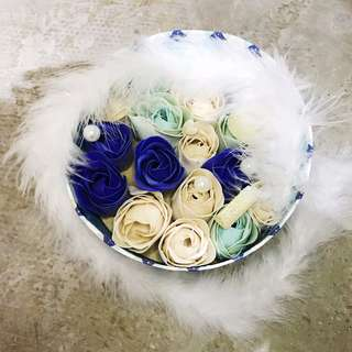 Soap Valentines Flowers V Day Roses Anniversary Wedding Gift New