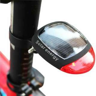 包郵 太陽能單車尾燈