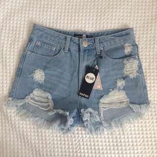 Denim Shorts - BOOHOO *NEW*