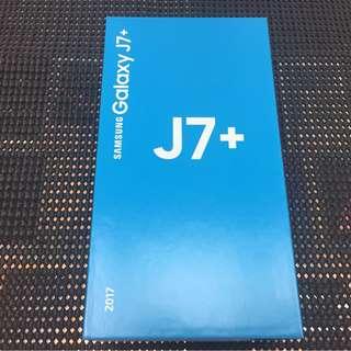 全新 Samsung Galaxy J7+空機免綁約~全新公司貨 搭門號另有優惠