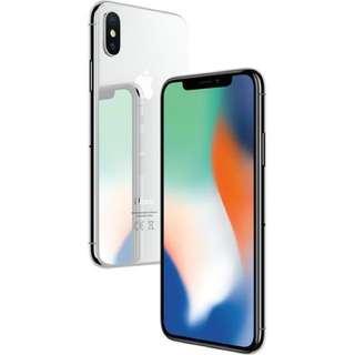 IphoneX 64GB 銀(已開封)