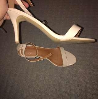 classy strap heels