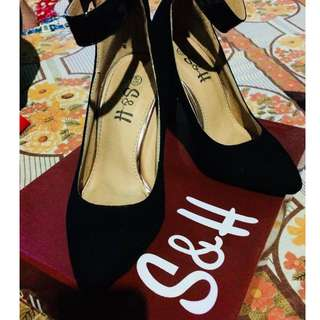 S&H Elegant Black Shoes