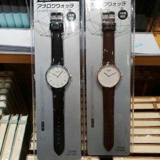 MINISO Watch (Black & Brown)