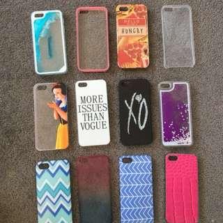 iPhone 5s cases ($0.50c each)
