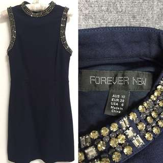 Forever New Navy Dress