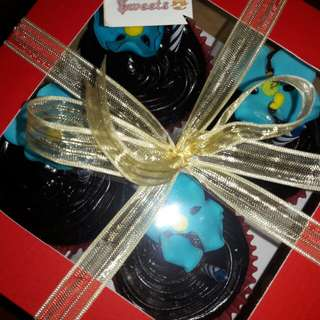 Double Moist Chocolate Cupcake (box of 4, 6 and 12)