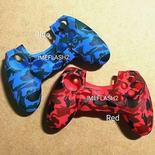 PS4 Camou Silicone Controller Cover