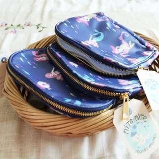 Cosmetics Waterproof Bag ♥ Makeup organizer ♥ Girls and Travel Essentials!