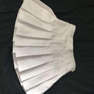 White American apparel skirt