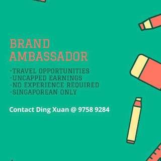 Brand/Event Ambassador