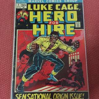 Heroes for hire #1 First Luke Cage