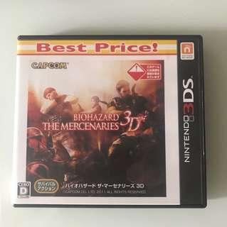 3DS BIOHAZARD THE MERCENARIES