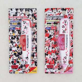 PLUS Whiper MR Correction Tapes (Disney Editions)