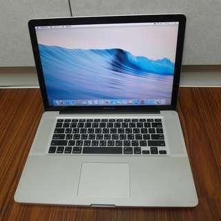"""【出售】Apple MacBook Pro 15"""" 筆記型電腦"""