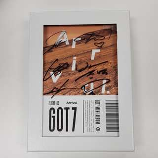 SELLING : GOT7 비매 ARRIVAL ALBUM