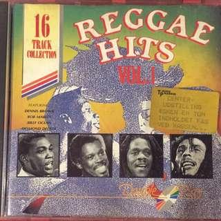 Reggae Hits music cd compilation