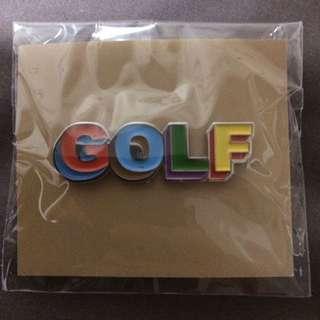 GOLF 3D ENAMEL PIN