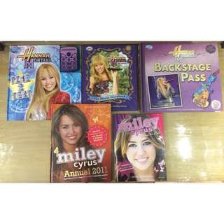 Hannah Montana / Miley Cyrus Book Bundle