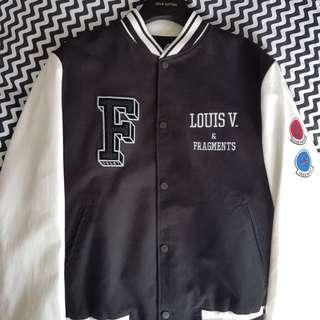 Louis Vuitton X Fragment Varsity Jacket