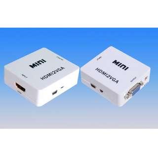 Mini HDMI to VGA Converter
