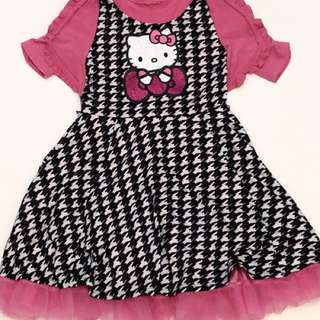 Baju Dress anak cewek - Hello Kitty Sweet