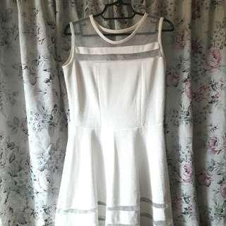 Whie Dress L-XL