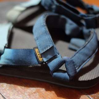 Teva Black outdoor sandals (Size 6 women's)