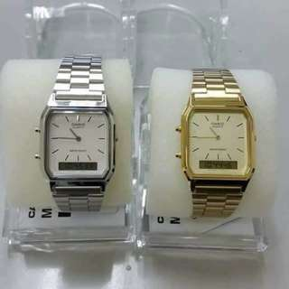 Casio Vintage Couples Watches
