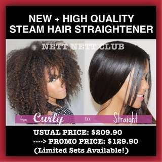 *NEW!!* - Salon Professional Steam Hair Straightener
