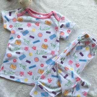 Shirt and pajama pair